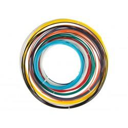 Assortiment de fils ABS 1.75mm de 10 couleurs pour imprimante et stylo 3D