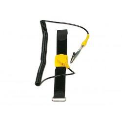 Bracelet antistatique noir
