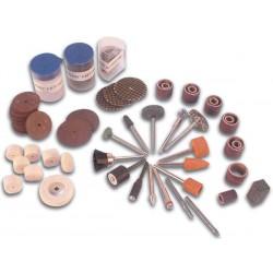 Assortiment d'accessoires pour perceuse de précision 125 pièces