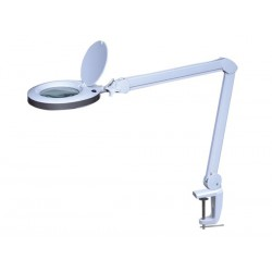 Lampe loupe led 8 dioptries 8w blanc