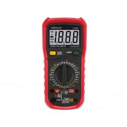 Multimètre numérique multifonctions 1999 points CAT. III 600 v