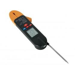 Thermomètre infrarouge avec sonde et pince