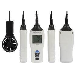 Anémomètre thermomètre 1 à 162 Km/h sonde déportée