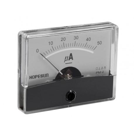 Ampèremètre CC analogique 60 x 47mm