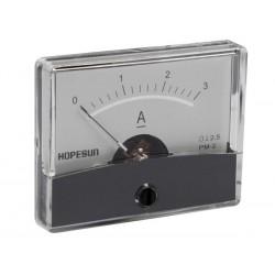 Ampèremètre 3A CC analogique 60 x 47mm
