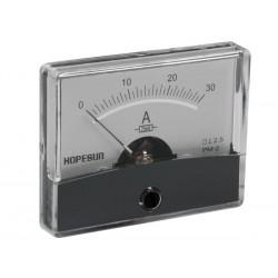 Ampèremètre 30A CC analogique 60 x 47mm