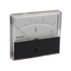 Ampèremètre 3A CC analogique 70 x 60mm