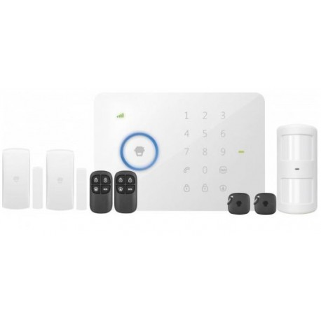 Kit alarme sans fil avec liaison GSM