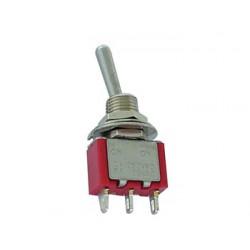 Interrupteur à levier unipolaire diamètre 6.5mm