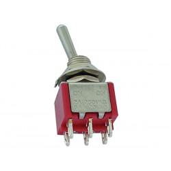 Interrupteur à levier bipolaire diamètre 6.5mm