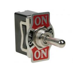 Interrupteur à levier unipolaire diamètre 12mm
