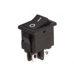 Interrupteur à bascule bipolaire 21x15mm
