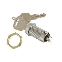 Interrupteur à clef diamètre 22mm