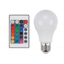 Ampoule LED RVBW 7.5W à vis gros culot