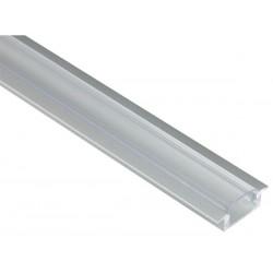 Profilé encastrable en aluminium pour led