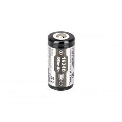 Accu 16340 Li-ion 3.7V 650mAH
