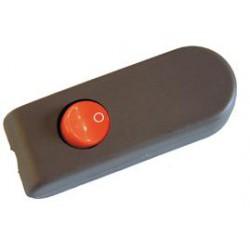 Interrupteur à bascule marron