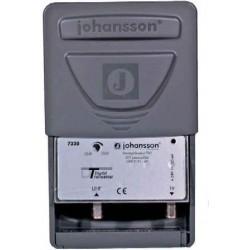 Amplificateur d'antenne 1 entrée / 2 sorties UHF