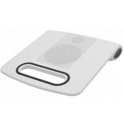 Support ventilé pour ordinateur portable avec enceinte