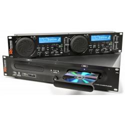Double lecteur CD/SD/USB/MP3