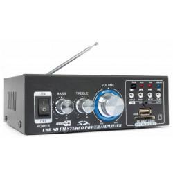 Amplificateur audio 2x40W tuner, MP3