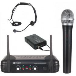 Micro sans fil 2 canaux VHF