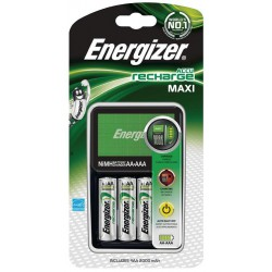 Chargeur batteries Ni-MH AA, AAA, R03,R6