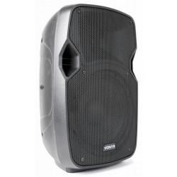 """Enceinte amplifié 15"""" 800 W avec lecteur MP3, Bluetooth"""