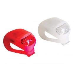 Eclairage de vélo avant et arrière LED