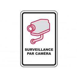 Panneau signalisation vidéosurveillance