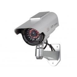 Caméra factice solaire avec leds infrarouges