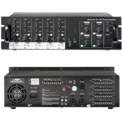 Amplificateur ligne 100V 4 zones