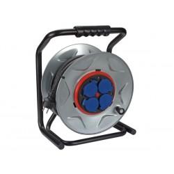 Enrouleur de câble 25m 3G2.5, 4 prises, anti-rotation
