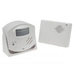 Alarme et sonnette à detection de mouvement sans fil