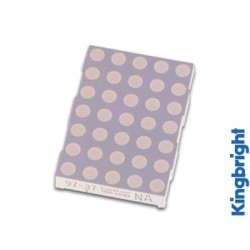 Afficheur 50mm à matrice 5x7 points anode commune