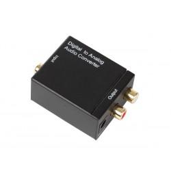 DAC Convertisseur audio numérique vers RCA analogique