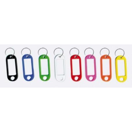 Porte-étiquettes plastique pour clef