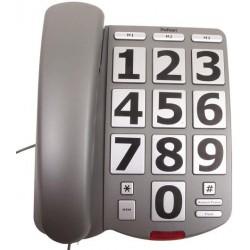 Téléphone à grosses touches filaire