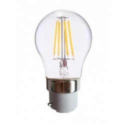 Ampoule Led 4W 380lm B22 blanc chaud