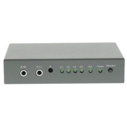 Commutateur HDMI 1 sortie 4 entrées avec télécommande