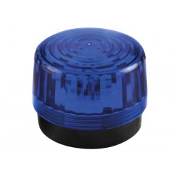 Flash stroboscopique bleu à led 12Vcc 100mm