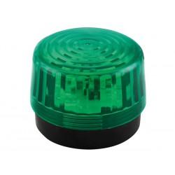 Flash stroboscopique vert à led 12Vcc 100mm