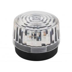 Flash stroboscopique transparent à led 12Vcc 100mm