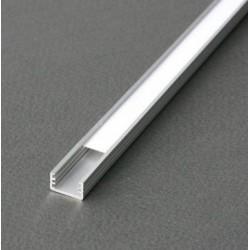 Profilé plat fin en aluminium brut pour led