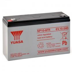 Batterie plomb 6V 10Ah Yuasa 151 X 50 X 97.5