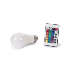 Ampoule LED RVBW 10W à vis gros culot