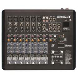 Table de mixage 8 canaux, DSP effet audio MX8
