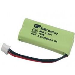 Batterie 2.4V NiMH pour téléphone sans fil 600mAh
