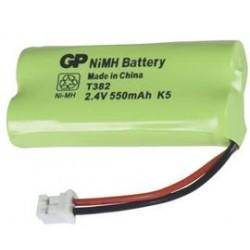 Batterie 2.4V NiMH pour téléphone sans fil 550mAh