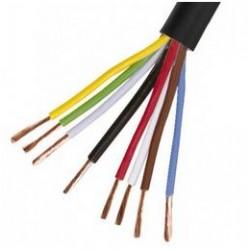 Câble 8 x 2mm², noir